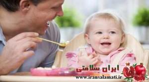 غذا دادن به کودکان