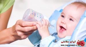 آب مورد نیاز برای نوزادان و کودکان