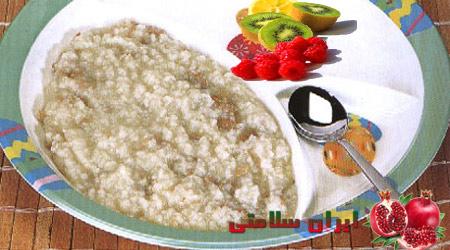 حلیم گوشت و برنج