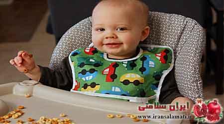 غذای نوزاد یازده ماه