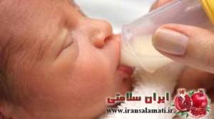 نشانه هاي كفايت شیر مادر