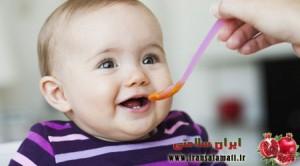 تغذیه نوزاد نه و ده ماهه