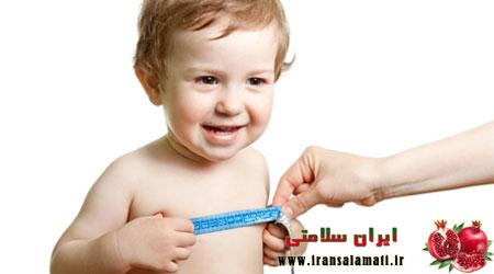 رشد و تغذیه کودکان